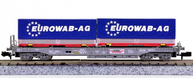 WABU 026.020 (N) – Einheitstaschenwagen der HUPAC / SBB, EUROWAB