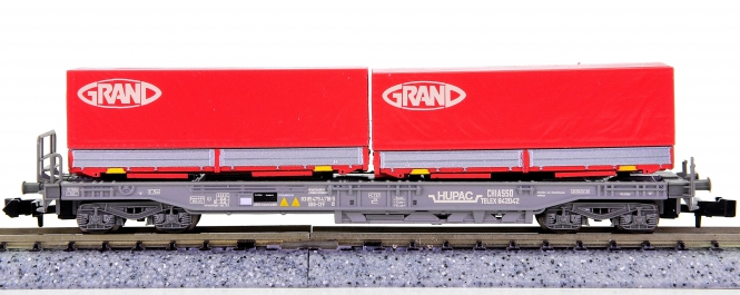 WABU 026.010 (N) – Einheitstaschenwagen der HUPAC / SBB, GRAND