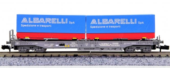 WABU 026.031 (N) – Einheitstaschenwagen der HUPAC / SBB, ALBARELLI