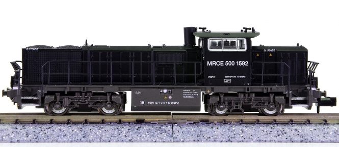 Hobbytrain H2942 (N) – Mehrzweck-Diesellok Vossloh G17000BB der MRCE