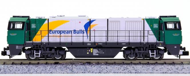 Mehano 55544 (N) - Diesellok Vossloh G2000 BB der European Bulls