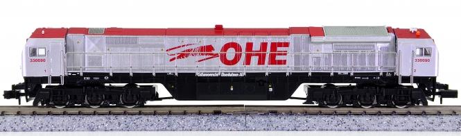 "Mehano 55421 (N) – Diesellok ADtranz DE-AC33C ""Blue Tiger"" der OHE"