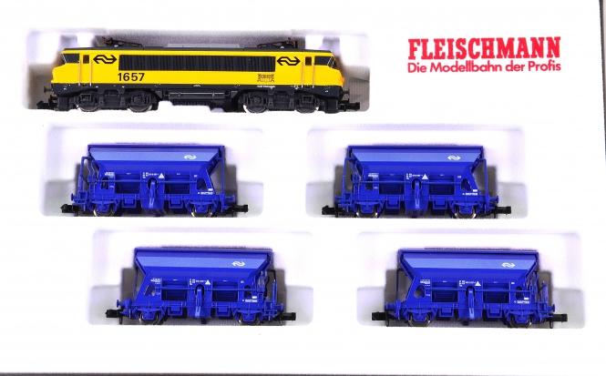 Fleischmann 9387 (N) – 5-teiliger Güterzug mit BR 1600 der NS