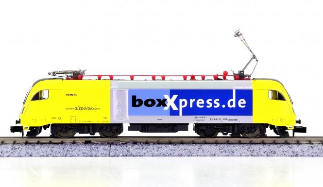 Minitrix 12771 – Mehrzweck-Elektrolok BR ES 64 U2 der dispolok.com