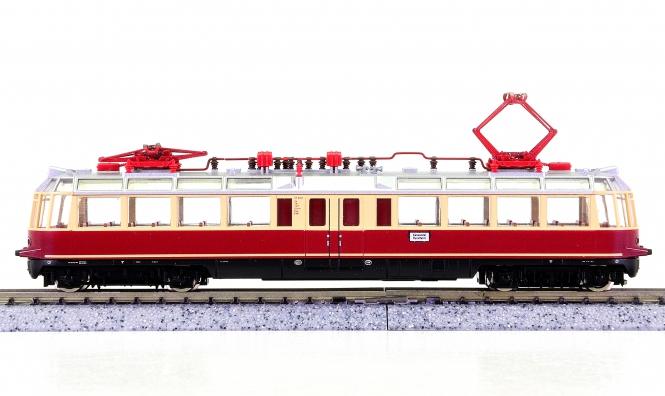"""Fleischmann 7808 (N) – Elektrotriebwagen BR ET 91 """"Gläserner Zug"""" der DB AG"""