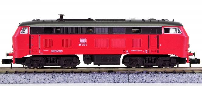 Fleischmann 7235 (N) – Mehrzweck-Diesellok BR 218 der DB