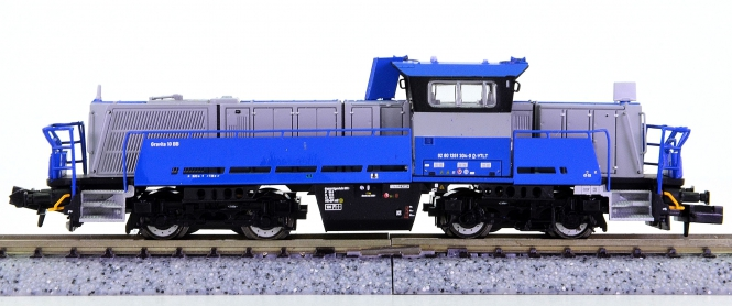 Brawa 62701 (N) – Diesellok Gravita 10 BB der Voith Turbo Lokomotivtechnik
