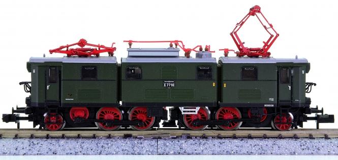 """Brawa 1250 (N) – Elektrolok BR E77 """"Elli"""" der DR (DDR)"""