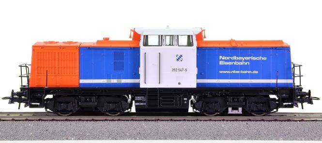 Roco 62814 – Mehrzweck-Diesellok BR 202 der Nordbayerischen Eisenbahn