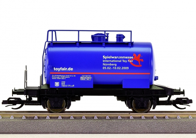 "Tillig 500810 (TT) – Kesselwagen ""Spielwarenmesse / Toyfair 2009"""