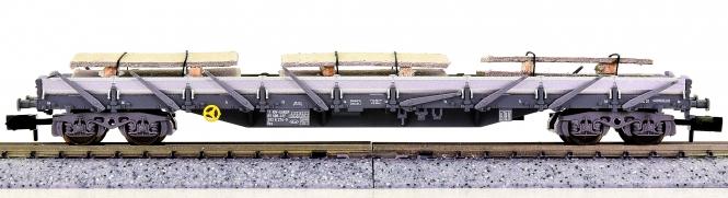 Fleischmann 8287CH K (N) – Flachwagen mit Seitenborden der SBB, beladen