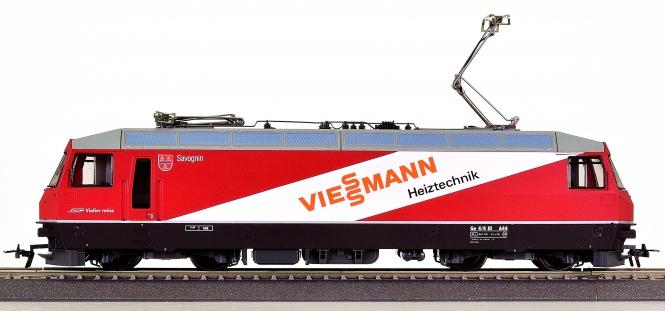 """Bemo 1259 114 (H0m) – Elektrolok BR Ge 4/4 III """"Viessmann"""" der RhB"""