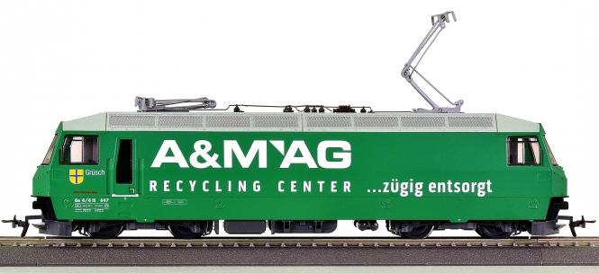 """Bemo 1259 157 (H0m) – Elektrolok BR Ge 4/4 III """"A&M AG"""" der RhB"""