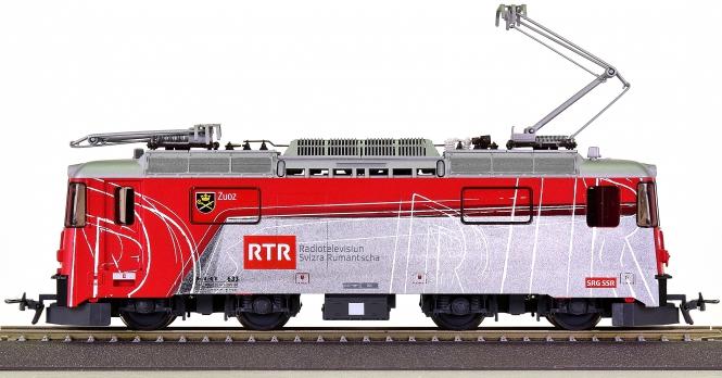 "Bemo 1258 163 (H0m) – Elektrolok BR Ge 4/4 II ""RTR"" der RhB"
