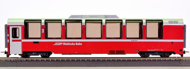 Bemo 3294 133 (H0m) – Bernina-Express Panorama-Wagen 2.Kl. der RhB