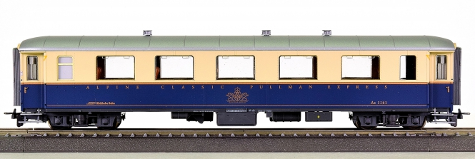 Bemo 3263 141 (H0m) – 1. Klasse Pullman Salon-Wagen der RhB