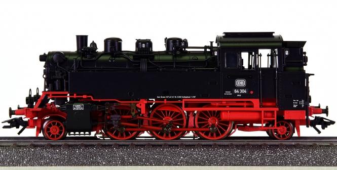 Märklin 39646 – Tender-Dampflok BR 64 Bubikopf der DB, digital (mfx)