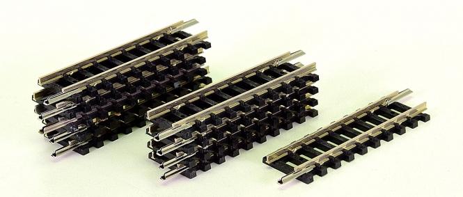 Minitrix 14907 – 10 gerade Gleise, Länge je Gleis 50 mm