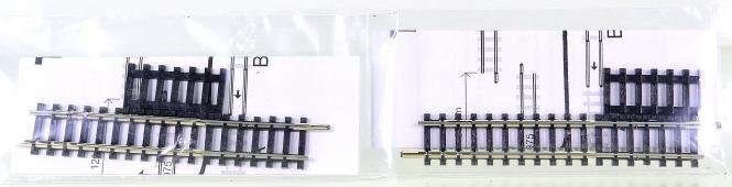 Minitrix 14975 – 2 Vario-Gleise, Länge einstellbar von 86,5 bis 120 mm