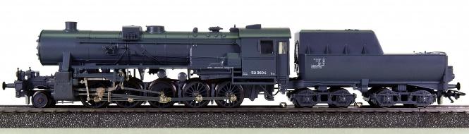 Märklin 3393 – Schlepptender-Dampflok BR 52 der DRG, digital (Delta)