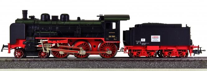 Märklin 3098 – Schlepptender-Dampflok BR 38 der DRG