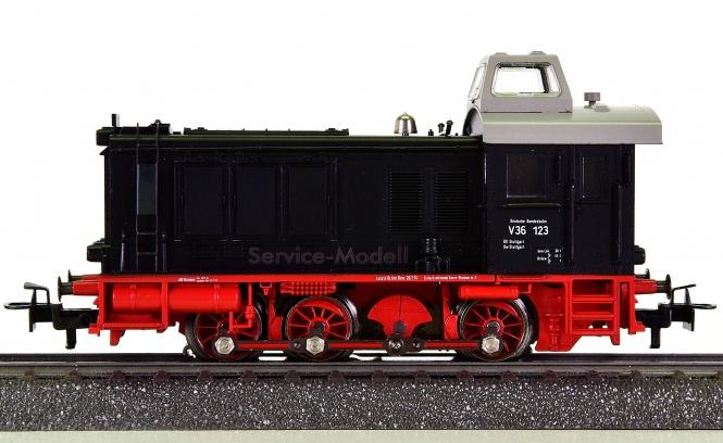 Märklin 3546 – Rangier-Diesellok BR V36 der DB, Service-Modell