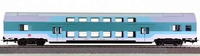 Piko 57680 – 2. Klasse Doppelstocksitzwagen DBmu748 der DB AG