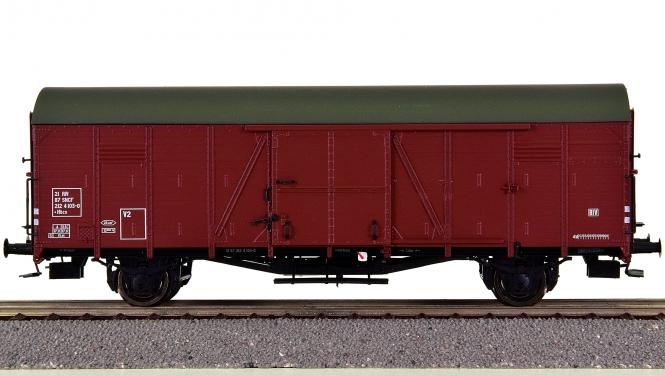 Brawa 48723 – Gedeckter Güterwagen Hbcs der SNCF