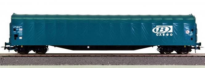 Roco 76539 – Schiebeplanenwagen Rilns der SNCB Carfo