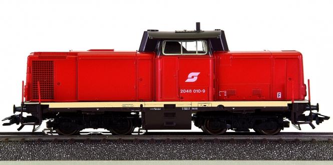 Märklin 3472 – Mehrzweck-Diesellok BR 2048 (V100) der ÖBB