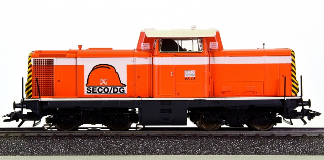 Märklin 3474 – Mehrzweck-Diesellok Serie 133 der SECO/DG, digital (Delta)
