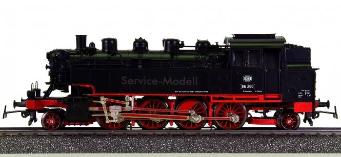 Märklin 3396 – Tenderdampflok BR 86 der DB, digital (Delta), Service-Modell