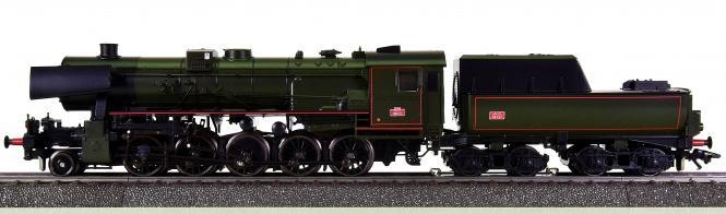 Märklin 34157 – Schlepptender-Dampflok Serie 150 Y der SNCF, digital (Delta)