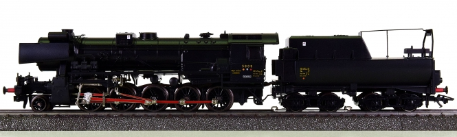 Märklin 34158 – Schlepptender-Dampflok Serie 56 der CFL, digital (Delta)