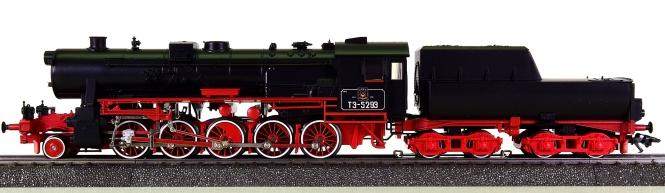 Märklin 34159 – Schlepptender-Dampflok BR T3-3915 der SZD, digital (Delta)
