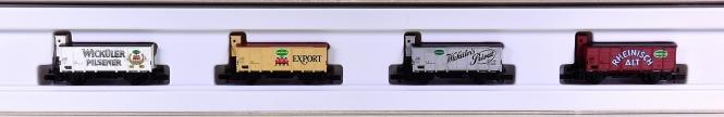 """Arnold 0137 – 4-teiliges Kühlwagen-Set """"Wicküler"""""""