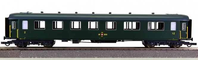 Roco 45915-2 – 1./2. Klasse historischer Personenwagen der SBB