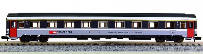 Roco 24242 (N) – Schnellzug-Abteilwagen (Eurofima) 1.Kl. der SBB