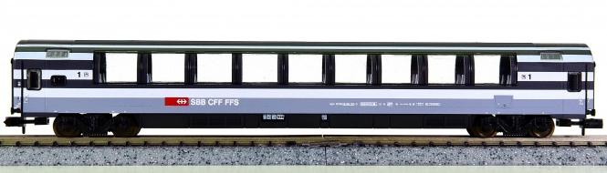 Minitrix 13796 K – 1. Klasse Eurocity-Panoramawagen der SBB