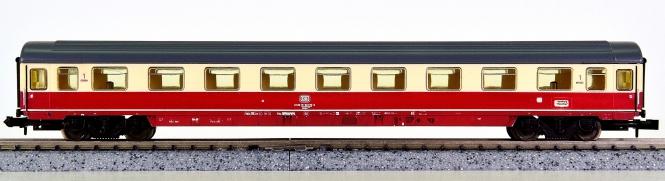 Minitrix 51 3101 00 – Schnellzug-Abteilwagen 1. Kl. der DB