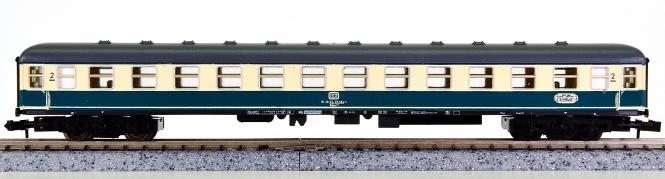 Minitrix 51 3112 00 – Schnellzug-Großraumwagen 2. Kl. der DB