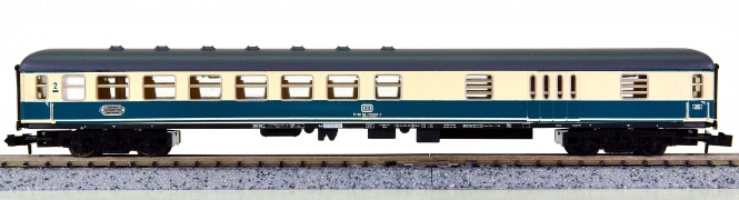 Minitrix 51 3117 00 – Schnellzug-Abteilwagen 2. Kl. mit Gepäckabteil der DB