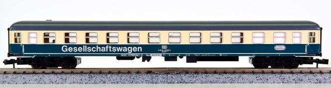 Minitrix 51 3119 00 – Schnellzug-Gesellschaftswagen der DB