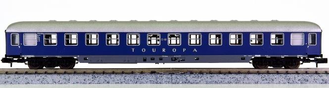 Roco 24310 (N) – Liegewagen 2.Kl. der Touropa, eing. bei der DB