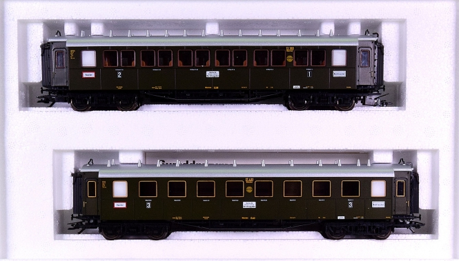 Märklin 4261 – Bayernwagen-Set der DRG