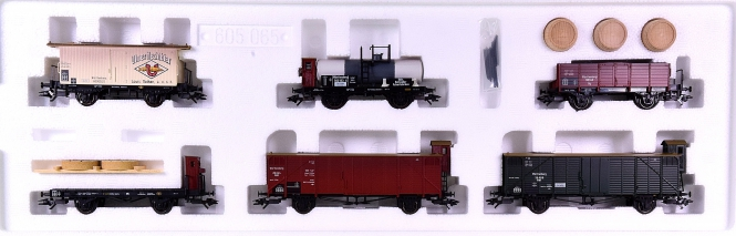 "Märklin 45103 – Güterwagen-Set ""Geislinger Steige"" der K.W.St.E. / Gr.Bad.Sts.E."