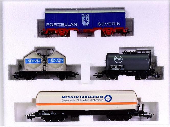 Märklin 4793 – Regional-Güterwagen-Set West