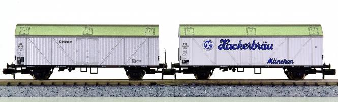 Arnold 0288 – 2-teiliges Kühlwagenset der DB