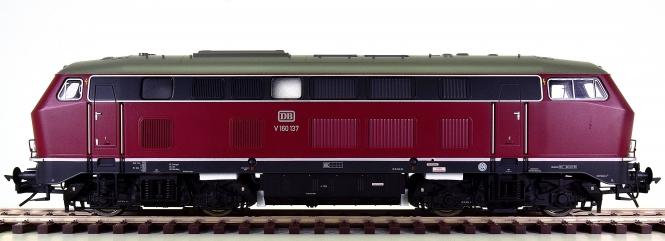 Lenz 40160 (Spur 0) – Diesellok BR V160 der DB, digital + Sound + Telex