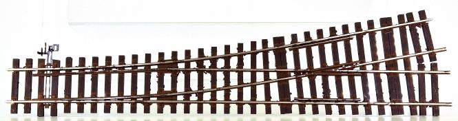 Lenz 45031-01 (Spur 0) - Weiche links (alte Ausführung), an Bastler